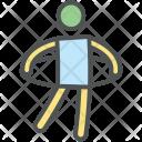 Gymnastic Hoop Hula Icon