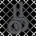 Gymnastic Rings Gym Icon