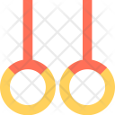 Gymnastic Rings Icon