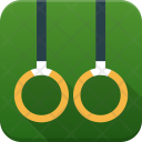 Gymnastic Rings Exercise Icon