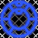 Gymnastic Wheel Icon