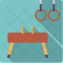 Gymnastics Pommelhorse Rings Icon