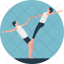 Partners Yoga Gym Icon