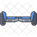 Gyro Scooter Transport Machine Icon