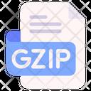 Gzip Document File Icon