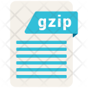Gzip Format Formats Icon