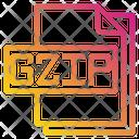 Gzip File File Type Icon