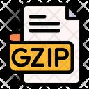 Gzip File Type File Format Icon