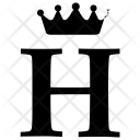 H Alphabet English Icon