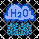 Raining Cloud H 2 O Icon