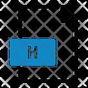 H Program Programming Icon