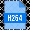 H 264 File Icon