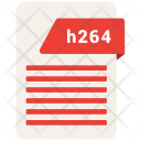 H 264 File Format Icon