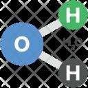 H 2 O Formula Chemistry Icon