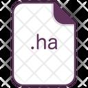 Ha File Document Icon