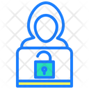 Hacker Hack Cyber Security Icon