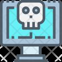 Computer Hack Virus Icon