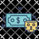 Hack Money Virus Icon