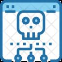 Website Hack Danger Icon