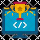 Hackathon Coding Binary Icon