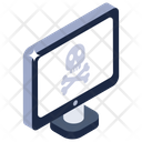 Hacked Computer Icon