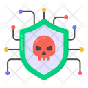 Cybercrime Hacked Network Malicious Network Icon
