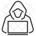 Hacker Criminal Hack Icon