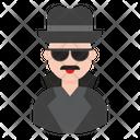 Hacker Spy Avatar Icon