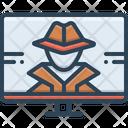 Hacker Phishing Technology Icon