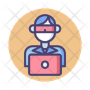 Ihacker Hacker Cyber Criminal Icon