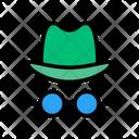 Agent Detective Hacker Icon
