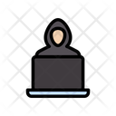 Hacker Cybercrime Online Icon