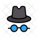Spy Hacker Agent Icon
