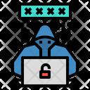 Hacker Programmer Criminal Icon