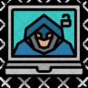 Hacker Thief Criminal Icon