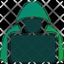 Hacker Security Crime Icon