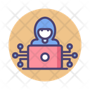 Hacker Cyber Protection Icon