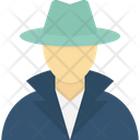 Avatar Character Detective Icon