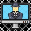 Spy Hacker Security Icon