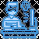 Hacker Computer Internet Icon