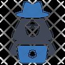 Computer Hacker Cyber Icon