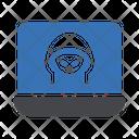 Hacker Spy Internet Icon