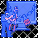 Hacker Cyber Crime Internet Icon