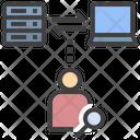 Hacker Programmer Inspector Icon