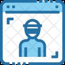 Hacker Website Window Icon