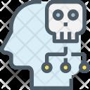 Mind Hacker Hacking Icon