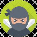 Hacker Ninja Spy Icon