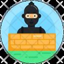 Hacktivist Cybercriminal Ransomware Icon