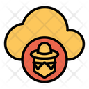 Hacker Cloud Icon
