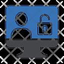 Hacker Computer Unlock Computer Hacker Icon